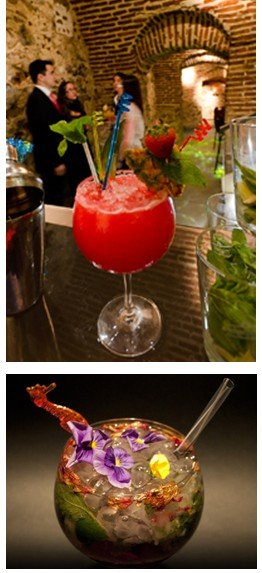 Las Cuevas de Sandó ofrece los mejores cocktails de la mano de los mejores barman.