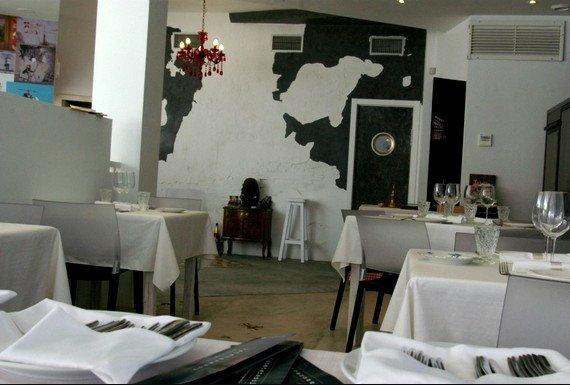 La Sopa Boba cuenta con una sala limpia y minimalista que no nos entretiene sobre lo que allí vamos a encontrar.