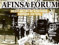 Los Afectados por FÓRUM y AFINSA presentan una plataforma unitaria para plantar cara a la injusticia