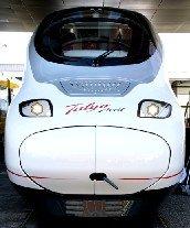 El nuevo Talgo Avril muestra el perfil más moderno de la Alta Velocidad española tanto en equipamiento como en tecnología.