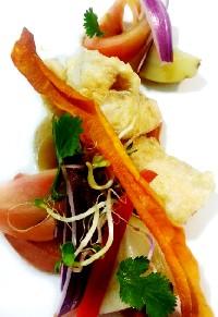 Fritos de bacalao con llamapares