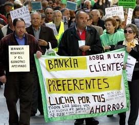 Una buena parte de los estafados por Bankia eran pequeños ahorradores y jubilados.