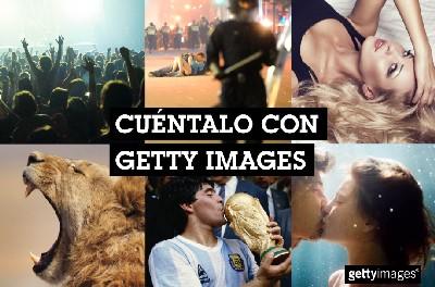 Más de 100 creativos de publicidad presentes en El Sol demuestran su ingenio en el juego 'Cuéntalo con Getty Images'