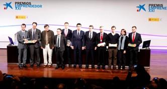 """""""la Caixa"""" y el Ministerio de Industria galardonan a VOptica, Orache, Smartick, Devicare y Torus con los Premios EmprendedorXXI"""