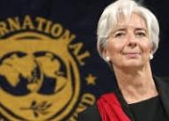 Lagarde, cara visible del FMI.