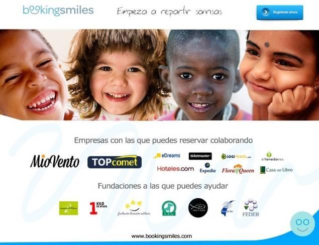"""Nace """"BookingSmiles"""", el primer portal online de Reservas Solidarias"""