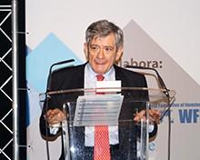 Enrique Barón, ex presidente del Parlamento Europeo.