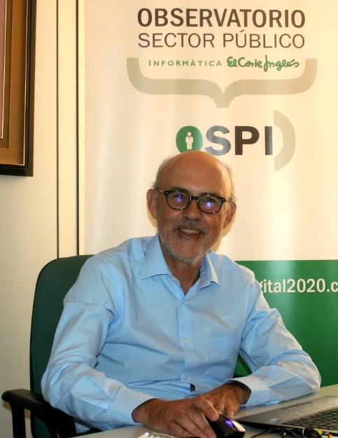 Víctor M. Izquierdo Loyola, presidente del Observatorio del sector público.