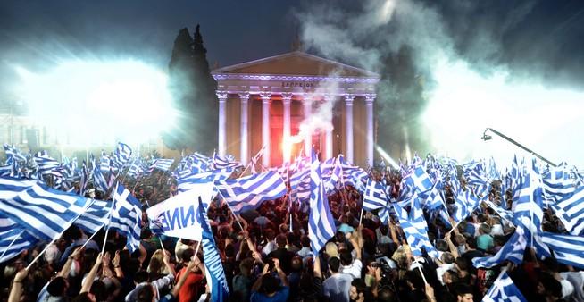 Grecia mira a toda la Unión Europea.