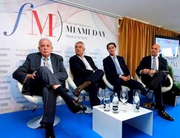 En la foto, Tomás Regalado, Luis Pineda, José Mª Orihuela y Fermín Guardiola.