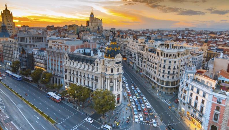 hoteles madrid puente inmaculada: