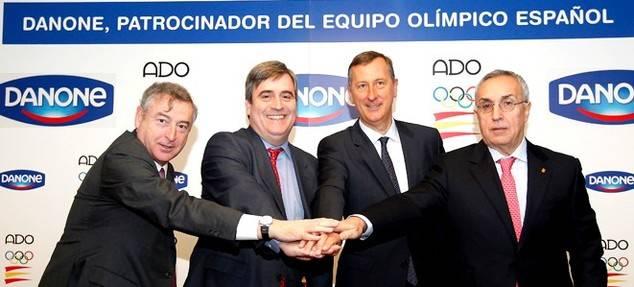 Danone, patrocinador del equipo olímpico español