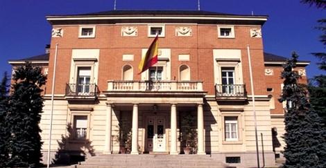 El Palacio de La Moncloa, centro neurálgico del poder en España.