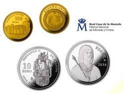 Monedas del «V Centenario de la Muerte de Fernando II de Aragón»