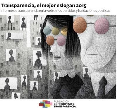 Ningún partido político es transparente