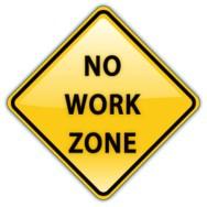 No work