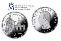 La Real Casa de la Moneda-FNMT lanza una moneda Conmemorativa del Tercer Centenario de Carlos III