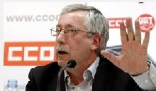 Fernández Toxo en apoyo de Rajoy