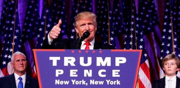 Trump, el presidente nº 45 de EEUU