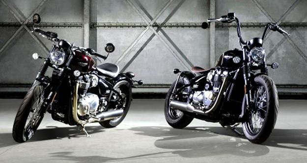 Triumph desvela la Bonneville Bobber, espíritu del concepto hot-rod