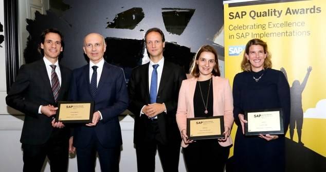 El Corte Inglés, Ferrovial y Logista, ganadoras de los SAP Quality Awards 2016 en España y Portugal