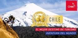 Chile se consagra como el Mejor Destino de Turismo Aventura del Mundo