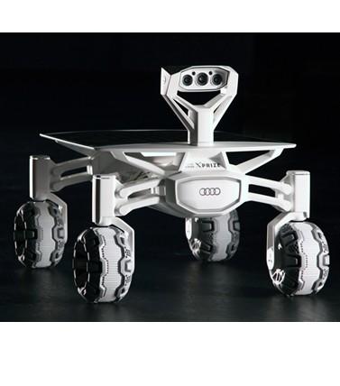 El Audi lunar quattro, listo para salir de nuestro planeta
