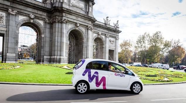 Llega a Madrid emov, un nuevo servicio de car sharing