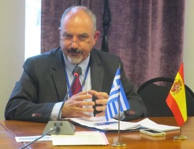 José Luis Barceló, Editor-Director de El Mundo Financiero, durante un momento de su intervención.