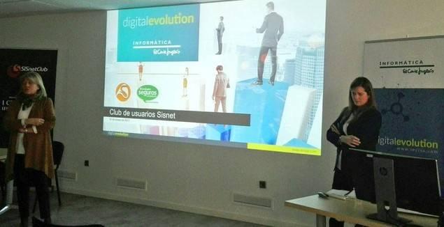 1ª Reunión del Club de Usuarios Sisnet, en colaboración con Informática El Corte Inglés