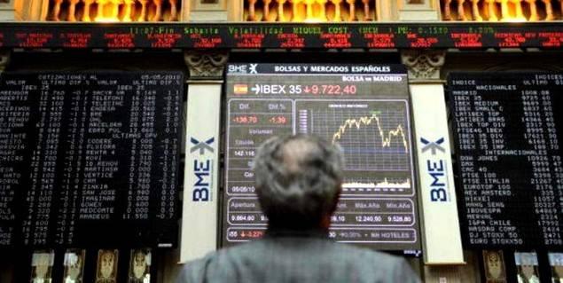El Ibex cerró enero en 9.315,20 puntos