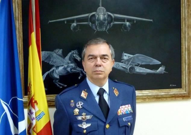 Rubén Carlos García Servert, general de división del Ejército del Aire español.