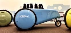El grupo piaggio crea el GITA y KILO, los primeros productos de Piaggio