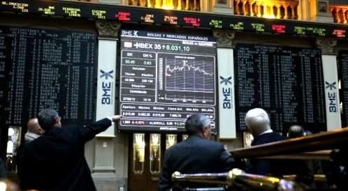 El Ibex roza los 9.500 puntos en medio de una avalancha de resultados corporativos