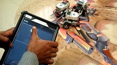 La robótica como herramienta de inclusión social, en la MWC de Barcelona