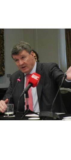 Rafael López Dieguez, durante un momento de su intervención (© Foto José Luis Barceló)