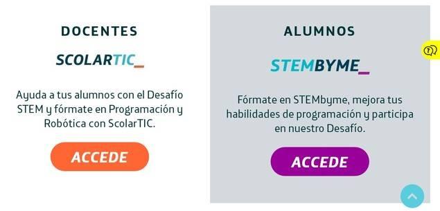 """Telefónica Educación Digital convoca """"Desafío Stem"""", concurso interescolar para desarrollar proyectos tecnológicos"""