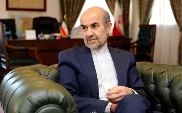 El Exmo. Sr. Mohammad H. Fadaifard, Exmo. Embajador de la República Islámica de Irán.
