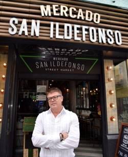"""-""""El Mercado de San Ildefonso ofrece una experiencia única 360º en filosofía y oferta""""-"""