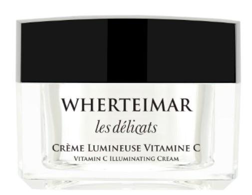 Nueva crema luminosa facial con vitamina C