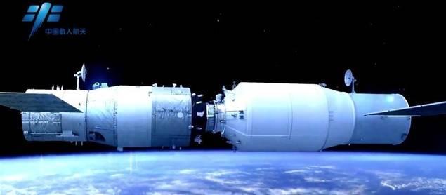 China se apresta a lanzar su primera nave espacial de carga Tianzhou-1