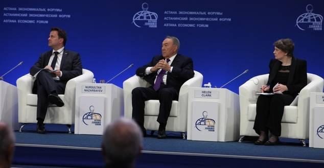 En marcha el Foro Económico de Astana 2017