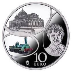 Europa Contemporánea en dos monedas de colección
