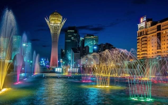 Astana, capital de Kazajstan.