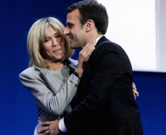 El peinado de Brigitte Trogneux, la nueva primera dama francesa