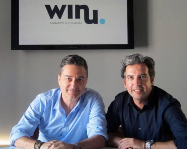 Alberto Esteve y David Castelló, socios fundadores de winu