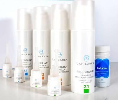 Capilárea lanza su tienda online y su línea capilar TricoBiology