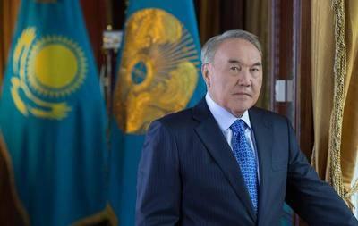 El presidente de Kazajstan, Nursultan Nazarbayev.