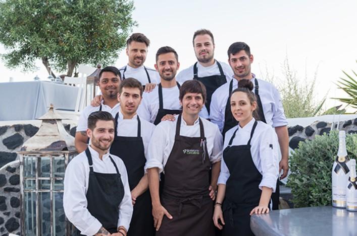 La cocina c ntabra viaja a las islas griegas de la mano de for La cocina de sergio