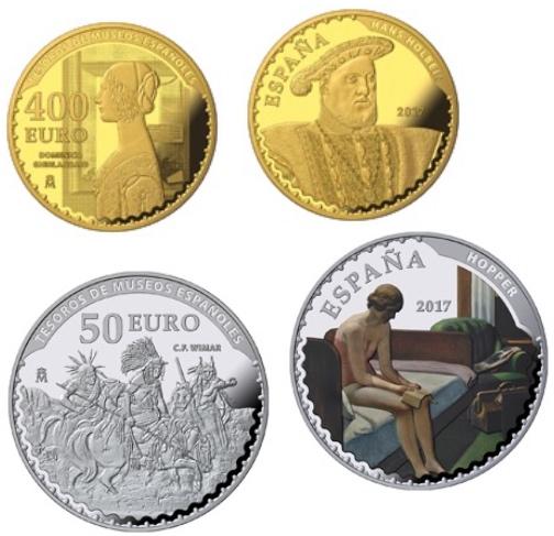 """""""Tesoros del Thyssen"""" en monedas de oro y plata"""